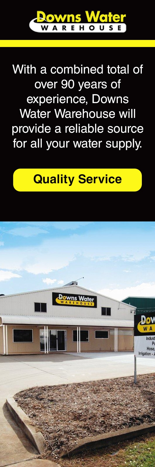 Downs Water Warehouse Pty Ltd - Irrigation & Reticulation