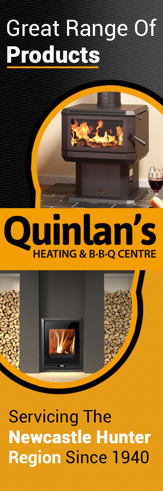 quinlan u0027s heating u0026 b b q centre fireplaces u0026 fireplace