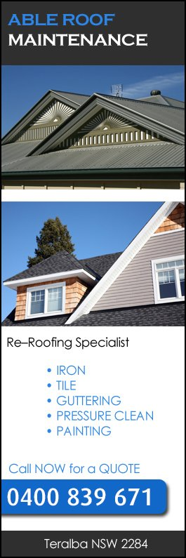 Able Roof Maintenance   Promotion