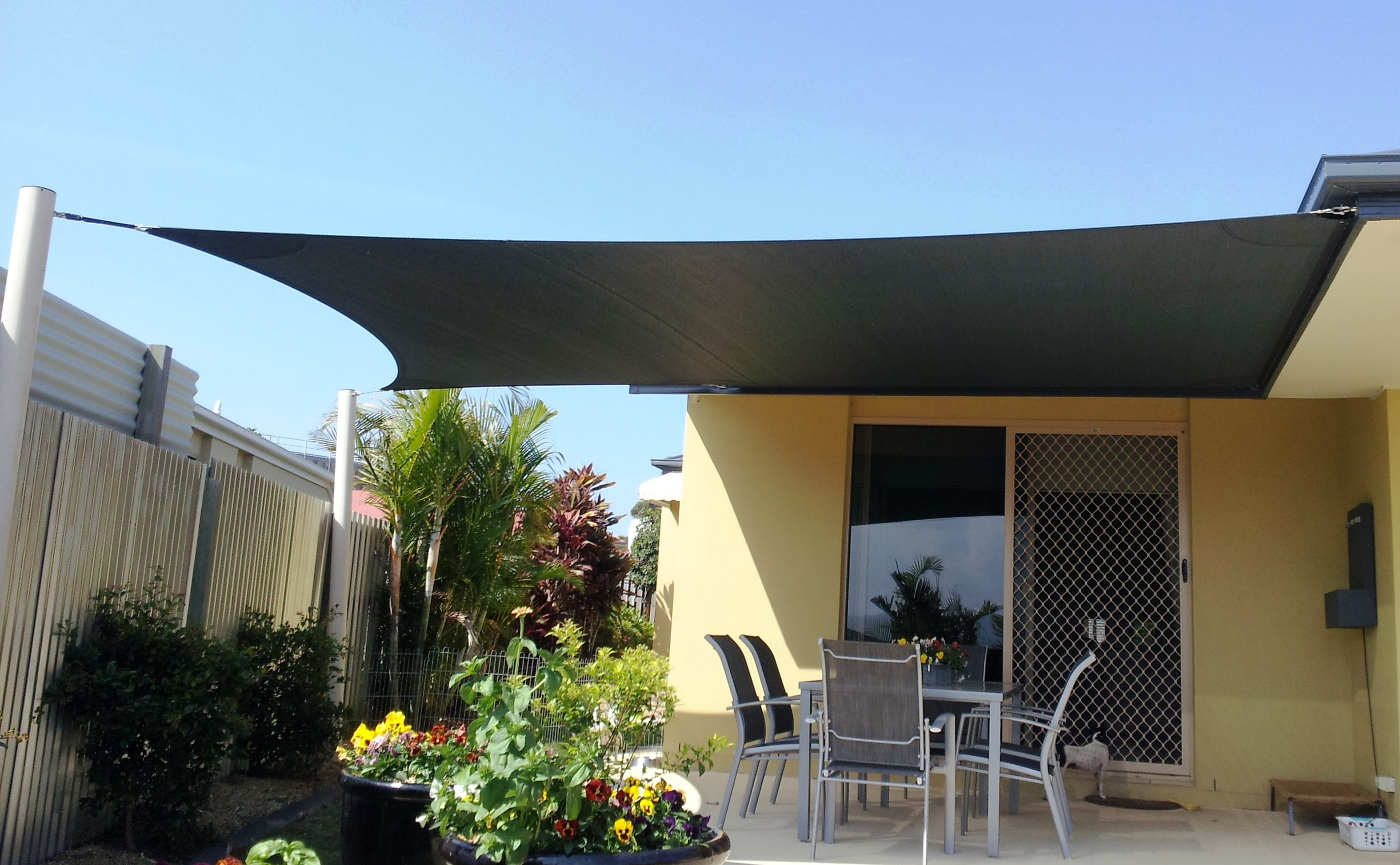 Sun Structure Shade Sails Palm Beach