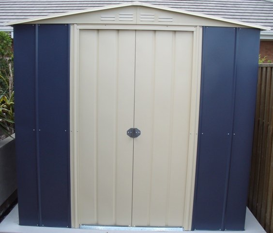 Shed plans diy network gambrel storage shed plans used for Garden shed qld
