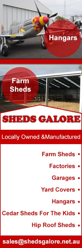 sheds galore promotion