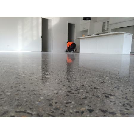 Polished off concrete resurfacing repair grovedale for Polished concrete maintenance