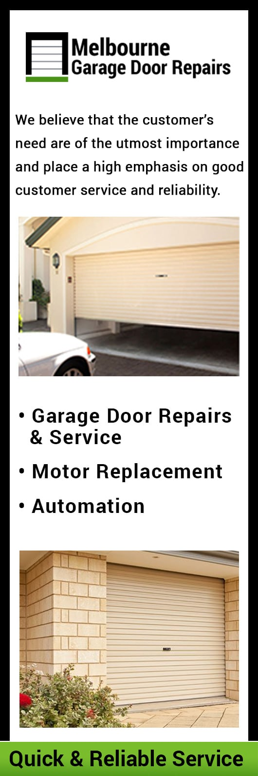 Melbourne Garage Door Repairs Garage Doors Fittings Brighton East