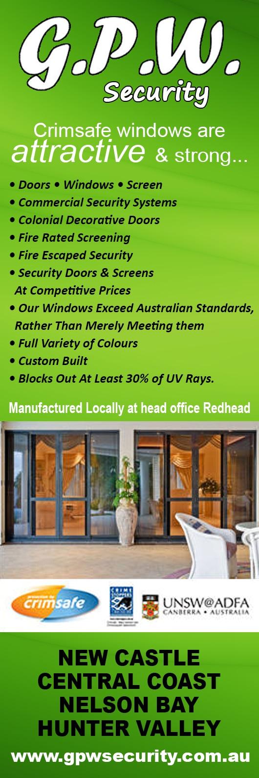 Gpw Security Screens Doors Pty Ltd Security Doors Windows