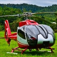 EC130 Helicopter - one of many types available through IAV