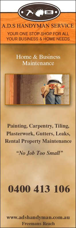 A.D.S. Handyman Service - Home Maintenance & Handymen - Freemans Reach