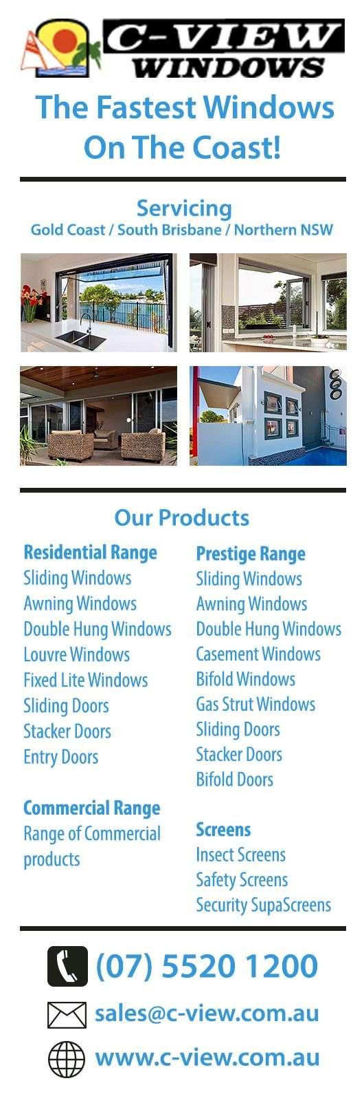 C-View Windows - Aluminium Windows - 25 Dover Drive - Burleigh Heads