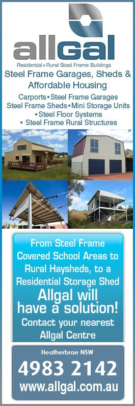 Allgal Residential Amp Rural Steel Frame Buildings Garage