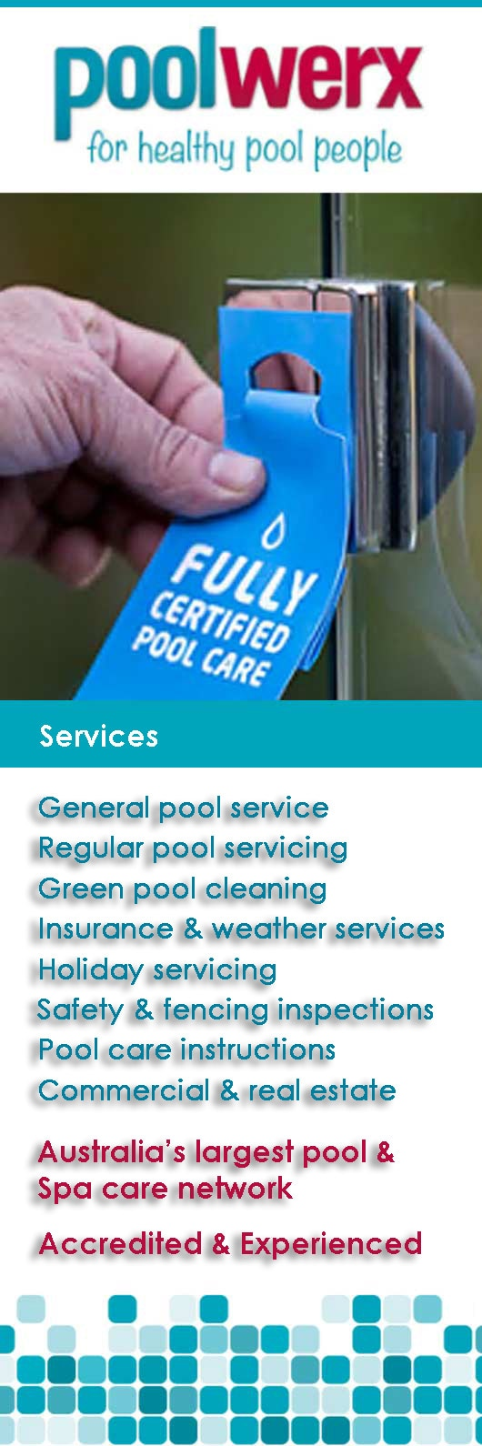Poolwerx Swimming Pool Maintenance Repairs Windsor
