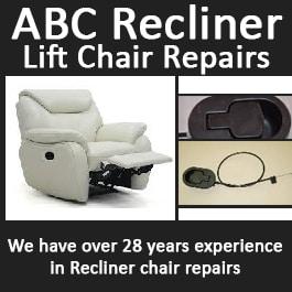 abc recliner lift chair repairs furniture restoration repairs