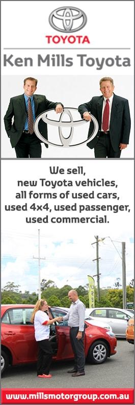 Ken Mills Toyota >> Ken Mills Toyota Used Cars 107 Coronation Ave Nambour