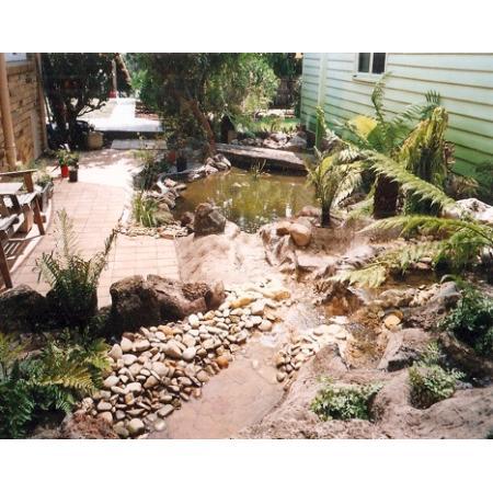 Water feature melbourne water features ponds garden for Garden pond melbourne