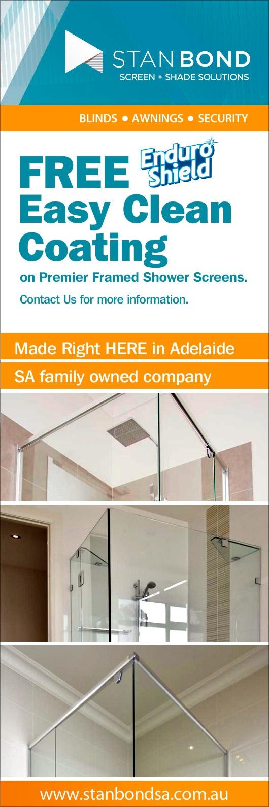 Stan Bond SA Pty Ltd - Shower Screens - PARKSIDE
