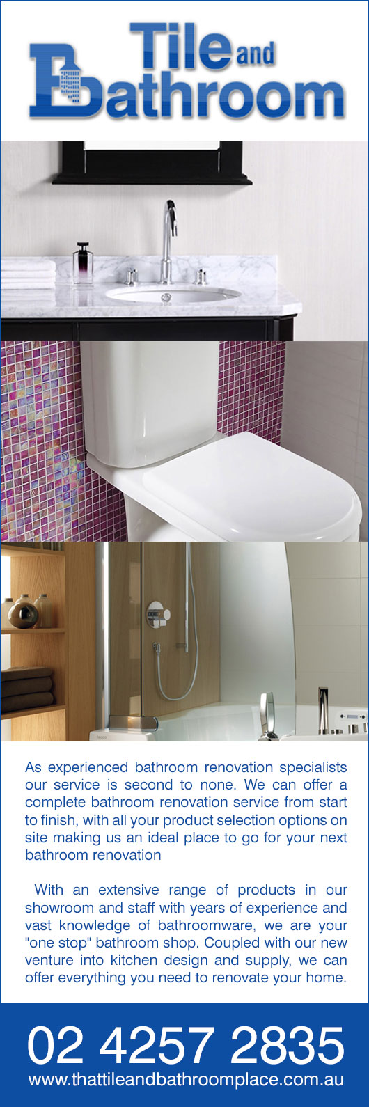 Bathroom showrooms canberra - Tile And Bathroom Place Promotion