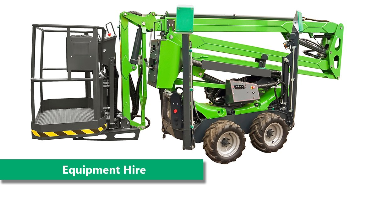 We hire equipment for all your construction needs