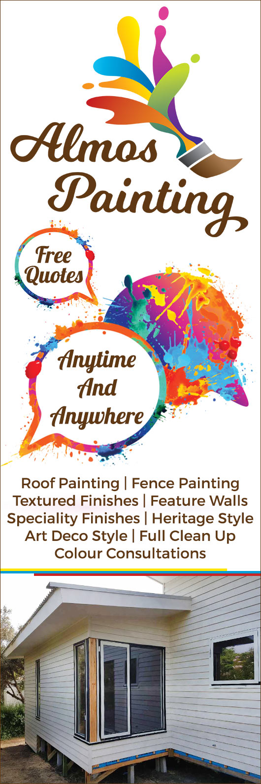 Almos Painting - Promotion
