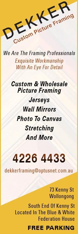 Dekker Custom Picture Framing - Photo Frames & Picture Framing - 73 ...