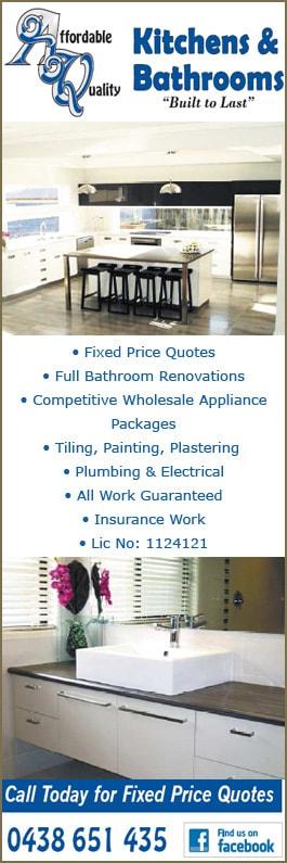 affordable quality kitchens u0026 bathrooms promotion