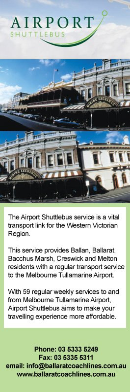 Hire car melbourne airport to ballarat