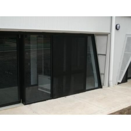 ... Clearshield Security Door in timber grain finish Western red Cedar ...