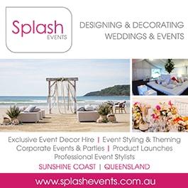 Splash events wedding planning planners unit 5 170 eumundi rd splash events promotion junglespirit Image collections