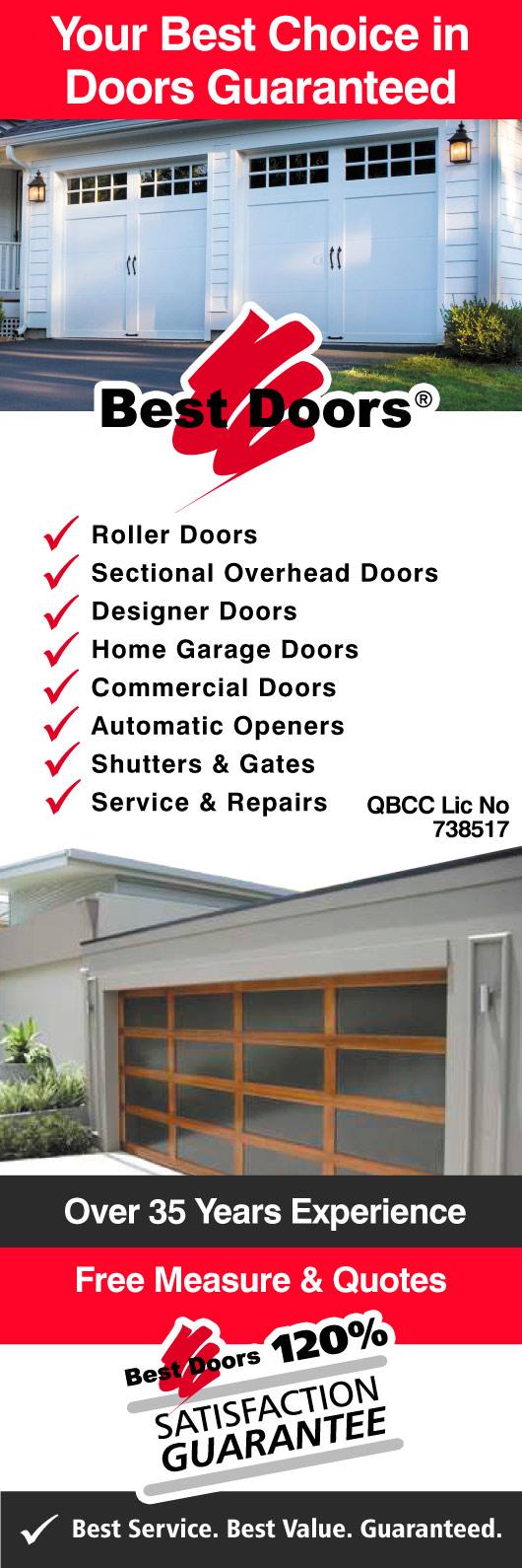 Best Doors Sunshine Coast Garage Doors Fittings Gympie