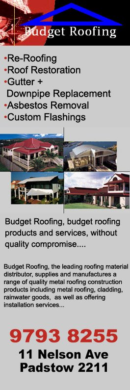 Budget Roofing   Promotion