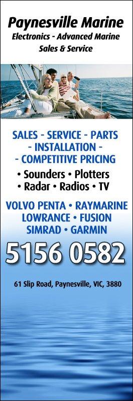 Paynesville Marine Electronics - Advanced Marine Sales