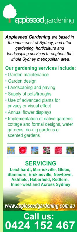 Appleseed Gardening Gardeners Marrickville