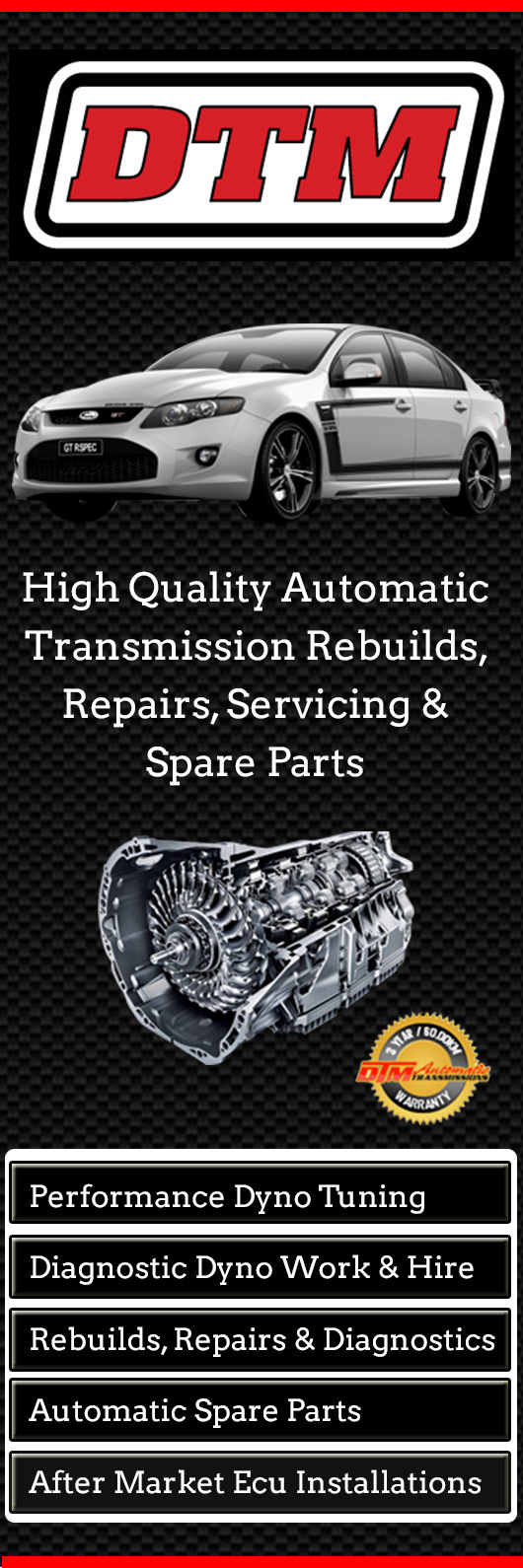 DTM Automotive - Car & Automotive Transmissions - 20-22