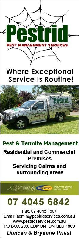Pestrid Pest Management Services Pest Control Cairns