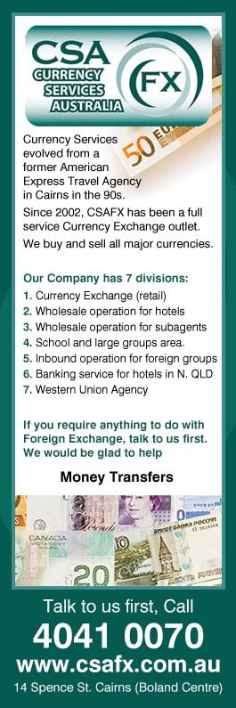 Aussie forex money exchange