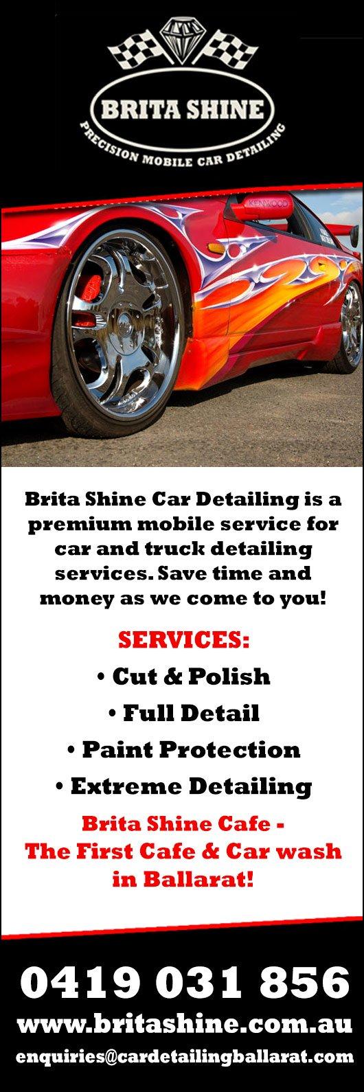 Brita shine promotion people also viewed car detailing