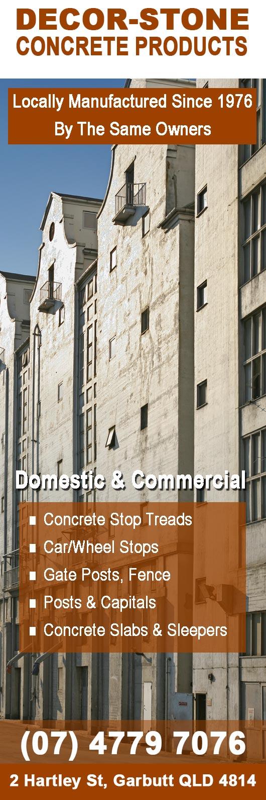 decor-stone concrete products - concrete products - 2 hartley st