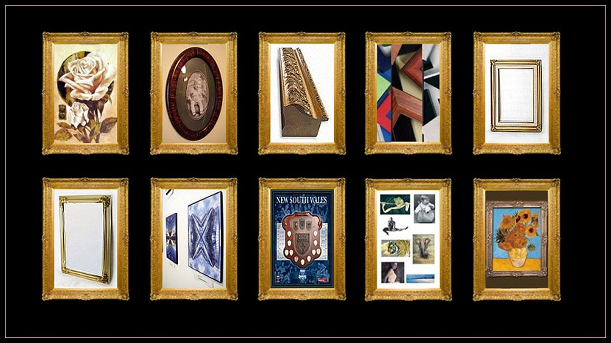 Buvelot picture framers photo frames picture framing 45 colbee our visualisation system will make your framing selection easy solutioingenieria Choice Image