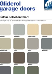 Colour Selection Chart