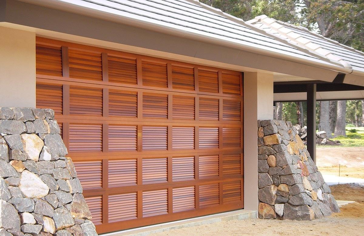 Louver Panel Doors ... & Best Doors Brisbane - Garage Doors \u0026 Fittings - BANYO