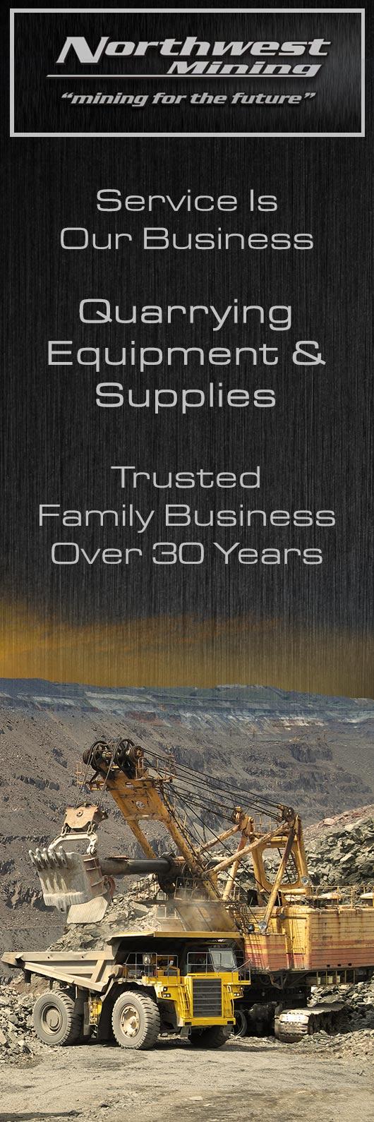 Northwest Mining - Mining, Quarrying Equipment & Supplies