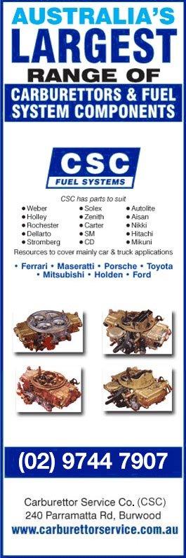 Carburettor Service Co Pty Ltd - Fuel Pumps & Carburettor Equipment