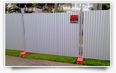 Cage Temporary Fencing Builders Amp Contractors Equipment