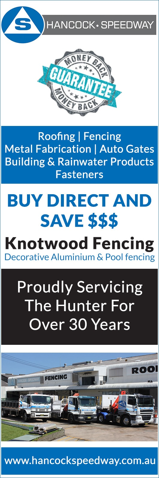 Hancock Sheetmetal Pty Ltd Fencing Materials Newcastle