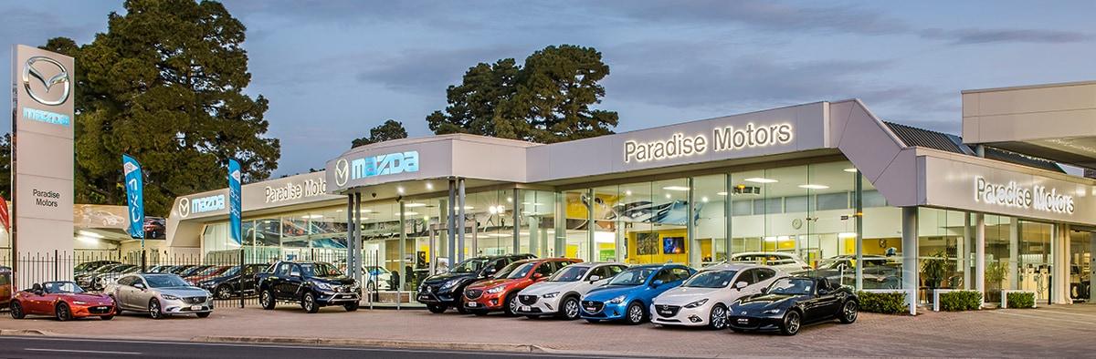 Paradise motors mazda new car dealers 738 lower north for South motors mazda service