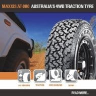 The New AT 980 Aggressive tread & shoulder design with excellent ride, wet and off road traction performance.