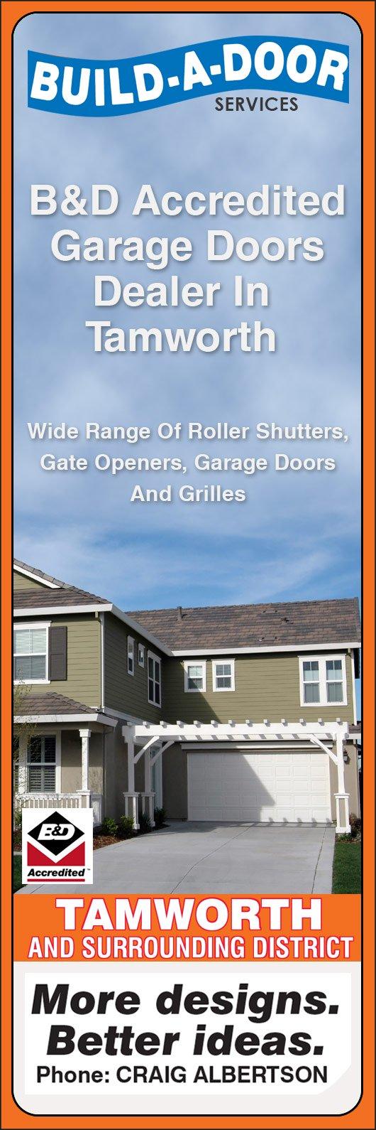 Build A Door Services Garage Doors Fittings 99 Kable Ave