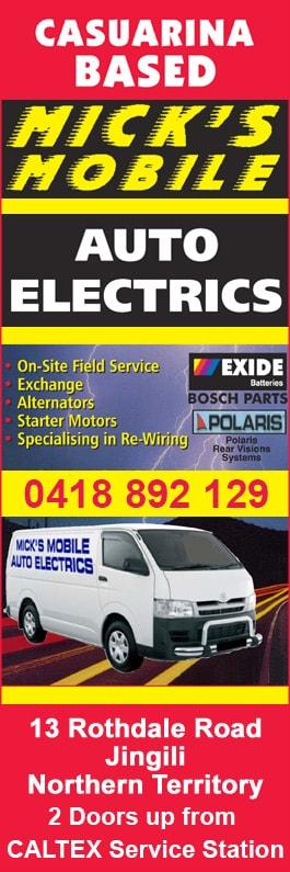 mick s mobile auto electrics auto electrician services 13 rh yellowpages com au automotive wiring devices kits Automotive Wiring Diagrams