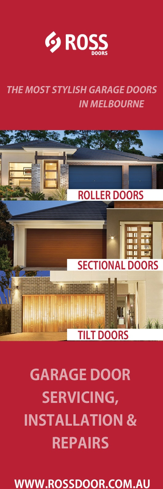 Rossdoor Garage Doors Fittings 111 National Blv Campbellfield