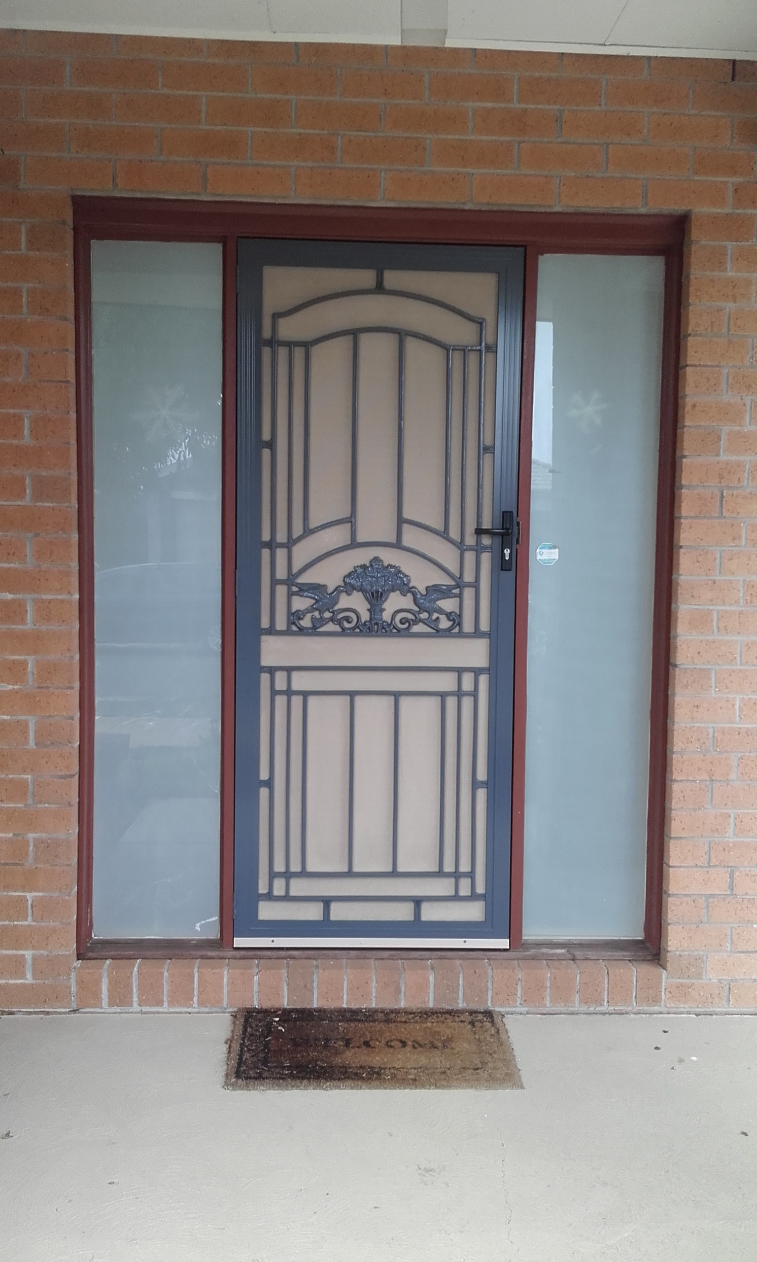 with believe only fashioned door the will to old sourced we ezy security screens notice doors fit you our quality using materials and commitment highest service perth locally together