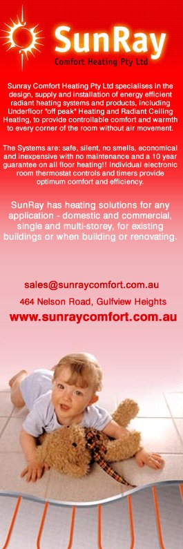 Radiant Heating supply and installation - Specialist in all types of floor heating and radiant ceiling heating