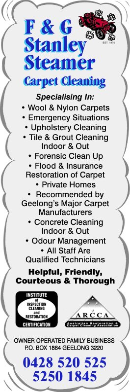 f u0026 g stanley steamer carpet cleaning promotion